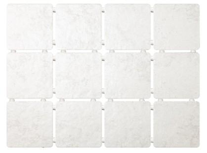Kerama Marazzi Ницца 1223Т светло-серый, полотно 30х40 из 12 частей 9,9х9,9 Матовая