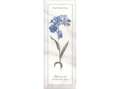 Kerama Marazzi Ноттингем NT\A83\15005  цветы грань