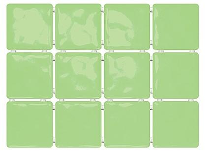 Kerama Marazzi Сезоны 1237  Сезоны зеленый, полотно из 12 частей Глянцевая