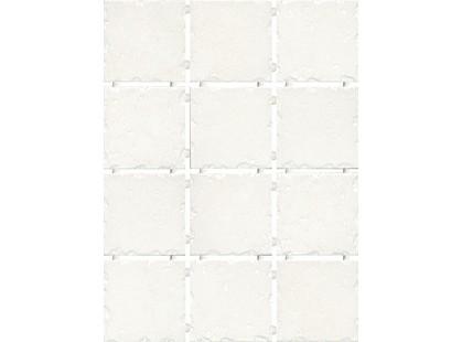 Kerama Marazzi Византия 1257   белый, полотно 30х40 из 12 частей