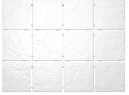 Kerama Marazzi Юката 1140    Белый, Полотно 30х40 из 12 частей 9,9х9,9 Матовая