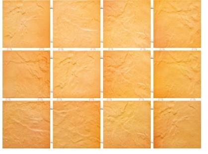 Kerama Marazzi Юката 1145    Оранжевый, Полотно 30х40 из 12 частей 9,9х9,9 Матовая