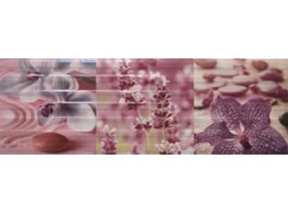 Kerlife ceramicas Arpa Dec. Zen Flor Burdeos