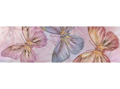 Kerlife ceramicas Dreams Cenefa Butterfly