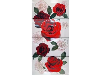Kerlife ceramicas Elegance Dec. Rosen Blanco