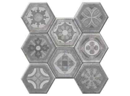 Kerlife ceramicas Hexagonal Pav. Asland Gris