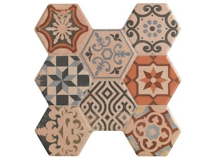 Kerlife ceramicas Hexagonal Pav. Astorga Beige