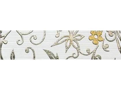 Kronos Ceramiche Riga Bianco List Damasco 8x33