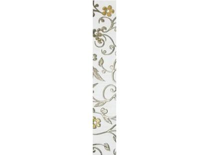Kronos Ceramiche Riga Bianco List Damasco 8x50