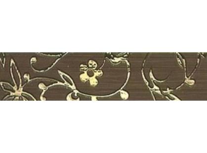Kronos Ceramiche Riga Moka List Damasco 8x33