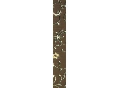 Kronos Ceramiche Riga Moka List Damasco 8x50