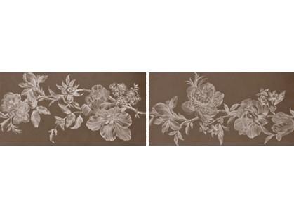 La Fabbrica Ceramiche Fifth avenue La Vie En Flores Chocolate Lapp. E Rett.