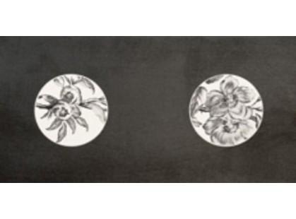 La Fabbrica Ceramiche Fifth avenue Perles Des Flores Black Chic Lapp E Rett.