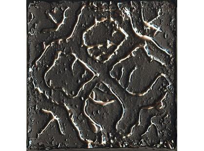 La Fabbrica Ceramiche Pietra lavica Metal Black Mix 3 5,5x5,5-2