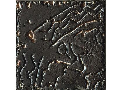 La Fabbrica Ceramiche Pietra lavica Metal Black Mix 3 5,5x5,5-3