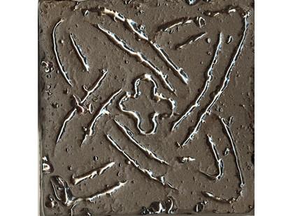 La Fabbrica Ceramiche Pietra lavica Metal Grey-bron Mix 3 5,5x5,5