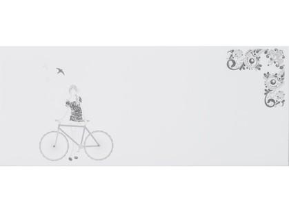 La Platera Black & White Dec. Bike Blanco