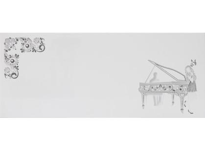 La Platera Black & White Dec. Piano Blanco