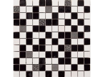 La Platera Black & White Malla Flash
