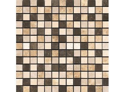 L`antic colonial Classico Marble Mos.Browns Classico 2x2 Malla