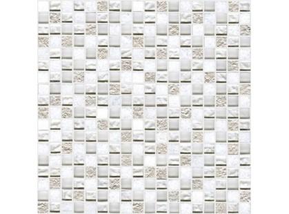 L`antic colonial Imperia Mix Silver White 1.5x1.5