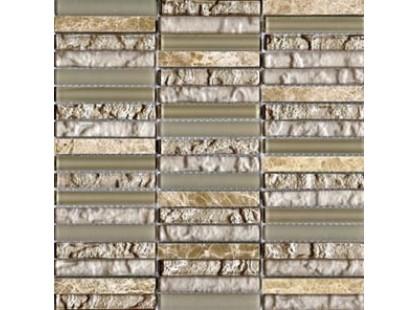 L`antic colonial Mosaicos Tecno Linear Cream Capuccino 1.5x9.7