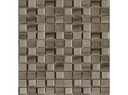 L`antic colonial Mosaicos Time Text Silk Wood 2,3x2,7
