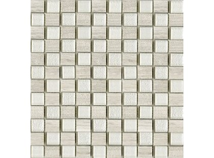 L`antic colonial Mosaicos Time Text Silver Wood 2,3x2,7