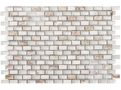 L`antic colonial Mosaicos Tribal Pearl White