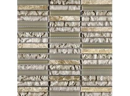 L`antic colonial Mosaics Collection L242521841 Tecno Linear Cream Capuccino
