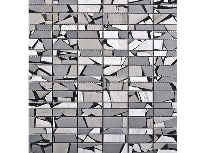L`antic colonial Mosaics Collection L153801161 Lines Safary Brown