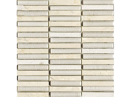 L`antic colonial Mosaics Collection L241709521 Time Texture Linear Cream (1.5x10)