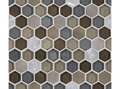 L`antic colonial Mosaics Collection L241711091 Fusion Hexagon Caramel Mix