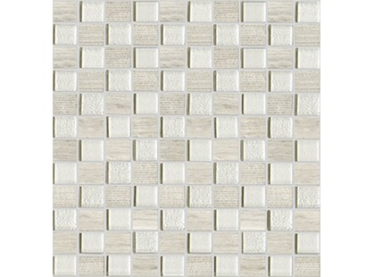 L`antic colonial Mosaics Collection L241709481 Time Text.Silver Wood