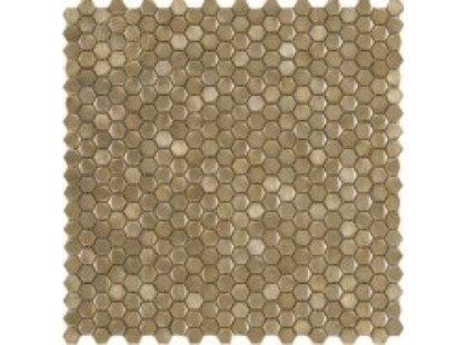 L`antic colonial Mosaics Collection L241712651 Gravity Aluminium Hexagon Gold