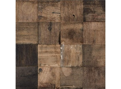 L`antic colonial Mosaics Collection L241712711 Wood Square Aged