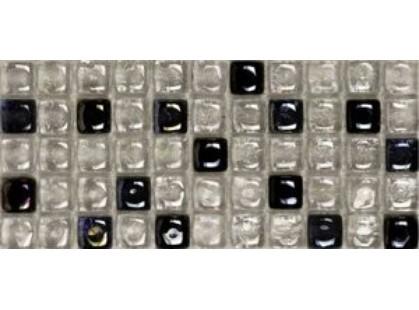 L`antic colonial NegroBalcan Blanco Dolomita L243001001 Mosaico Dados Ambar