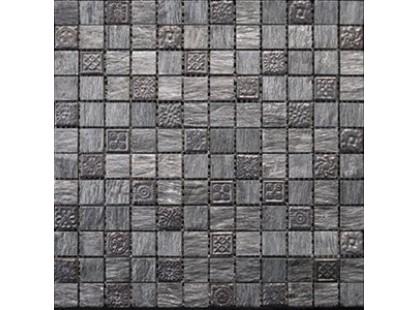 L`antic colonial Noohn Stone Mosaics L108010911 Bhutan Silver Décor 2,3x2,3cm