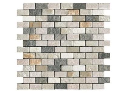 L`antic colonial Noohn Stone Mosaics L154101501 Brick Lhasa-Shannan-Burma (2,5x5)