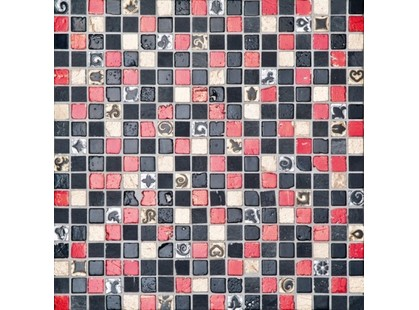 L`antic colonial Noohn Stone Mosaics L108013001 Imperia Red