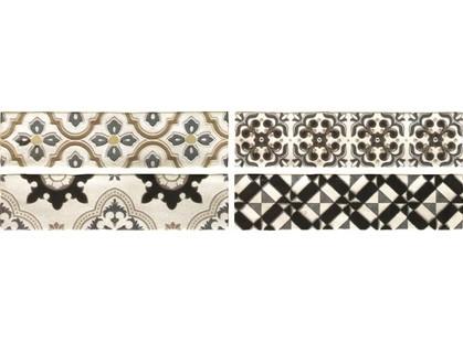 Latina ceramica Arezzo Oro Conjunto Комплект декоров из 4 плиток