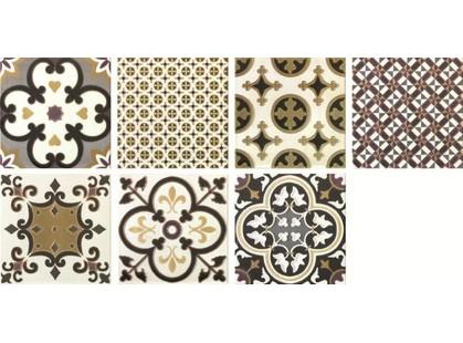 Latina ceramica Arezzo PCD Комплект декоров из 7 плиток