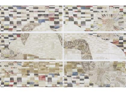 Latina ceramica Donna Mural 6pz