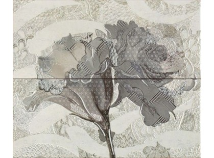 Latina ceramica Frades Conjunto Floral Gris  (компл. из 2 шт. 25х60)