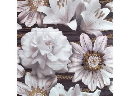 Latina ceramica Oxus Conjunto Marron 3 PZ