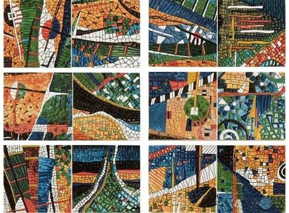 Latina ceramica Siha Mural Gaudi 6 pz