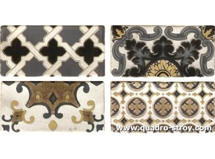 Latina ceramica Toscana Conjunto AREZZO Oro 4 шт.