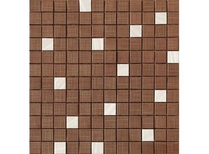 Latina ceramica Vetton Malla Mosaico Marron