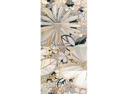 Lasselsberger (LB-Ceramics) Камила Цветы Бежевый 1608-0101  (комплект 4 шт)