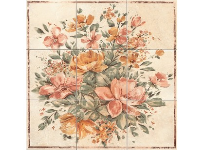Lord Classic collection Classica Composizione 9 Pz. Floreale Beige